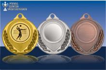 Volleyball Medaillen ''Grandios'' ST9180-61375