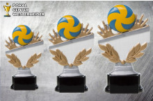 Volleyball Pokal -Trophäen ST39253-55