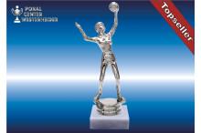 Damen Volleyballfiguren in silber