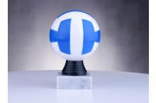 Volleyballfiguren ''Ball blau-weiss'' BP506.MULTI