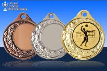Volleyballmedaillen Halbranke ST9283-61375