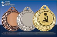 Wasserball Medaillen Halbranke ST9283-B16